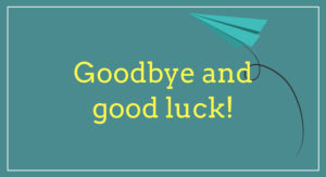 Good Bye & Good Luck – Mark Vallance!